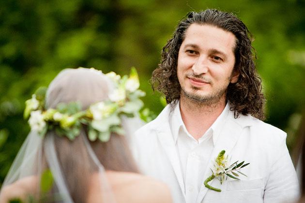 Cholle-Ugur-Gulcer-Wedding-Columbus-Ohio-Groom-At-Altar