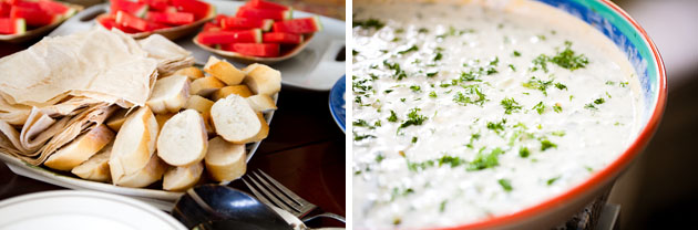 Cholle-Ugur-Gulcer-Wedding-Columbus-Ohio-Homemade-Food