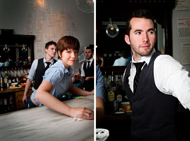Mouton-Bar-Columbus-Nylon-bartenders-cleaning-working-posing