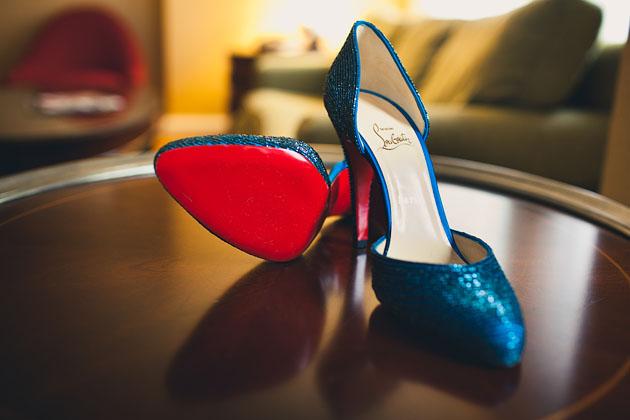 Brides-Blue-Shoes-Cleveland-Ohio-Marriott