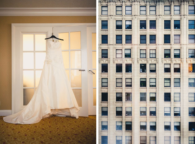 Wedding-Gown-Dress-Hanging-Marriott-Suite-Downtown-Cleveland-Ohio
