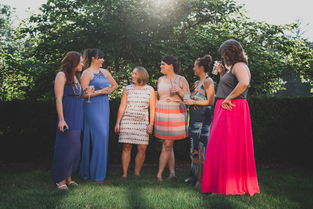 Wedding-Guests-Outside-Jeffrey-Mansion-Bexley-Ohio