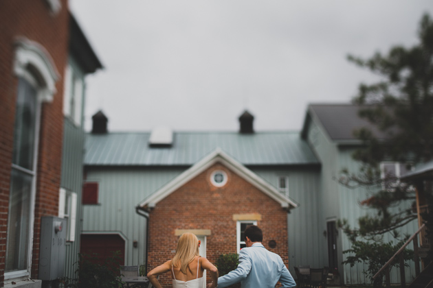 Bride-and-Groom-Walking-Outdoors-Columbus-Wedding-Photography