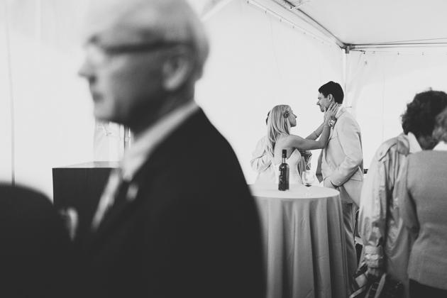 Bride-and-Groom-Wedding-Reception-Outdoor-Tent