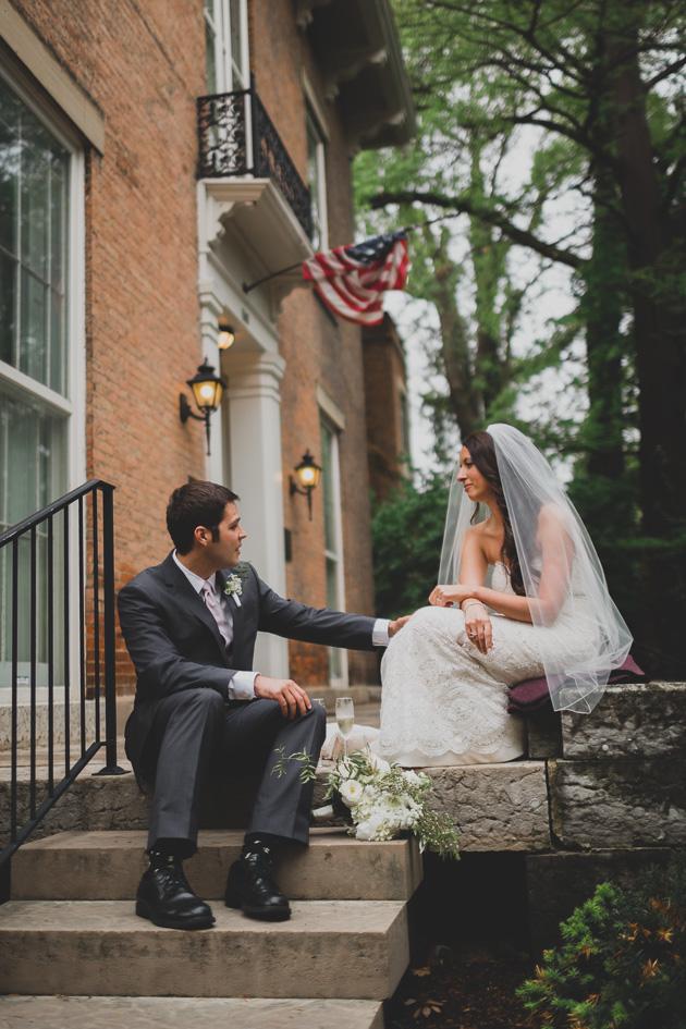 Bride-Groom-Outside-Kelton-House-Wedding-Ceremon-Columbus-Ohio